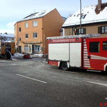 Wohnungsbrand in Friedberg